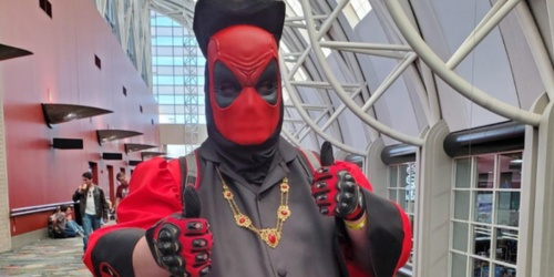 Marvel Deadpool Face Hider Mask Only $3.49 at Best Buy (Regularly $10)