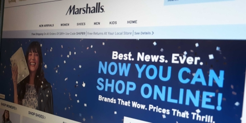 You Can Now Shop Online at Marshalls.com