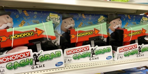 Up to 70% Off Family Games at Target | Monopoly Cash Grab, Pie Face Cannon & More