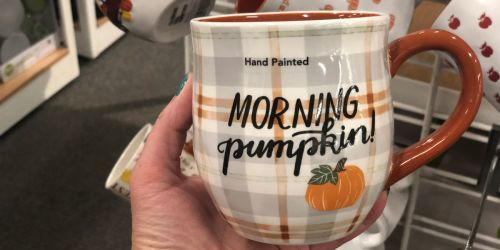 Fall Coffee Mugs as Low as $5 at Kohl's (Regularly $16)