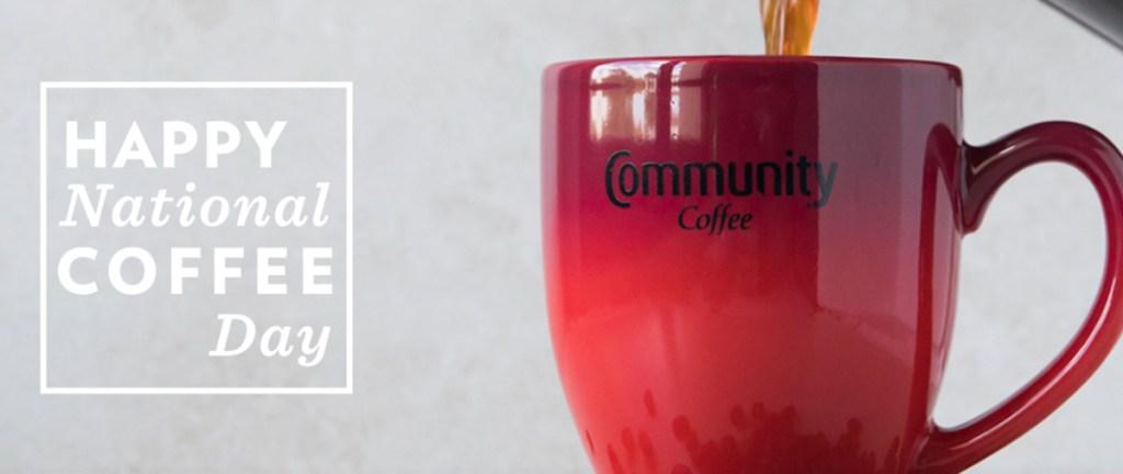 National Coffee Day - Community Coffee