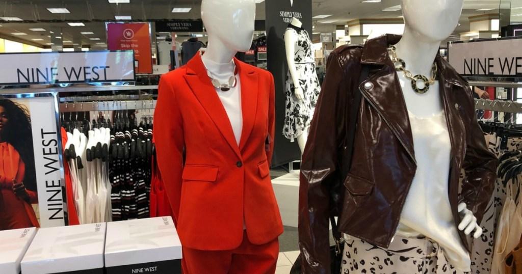 store displaying women's clothing