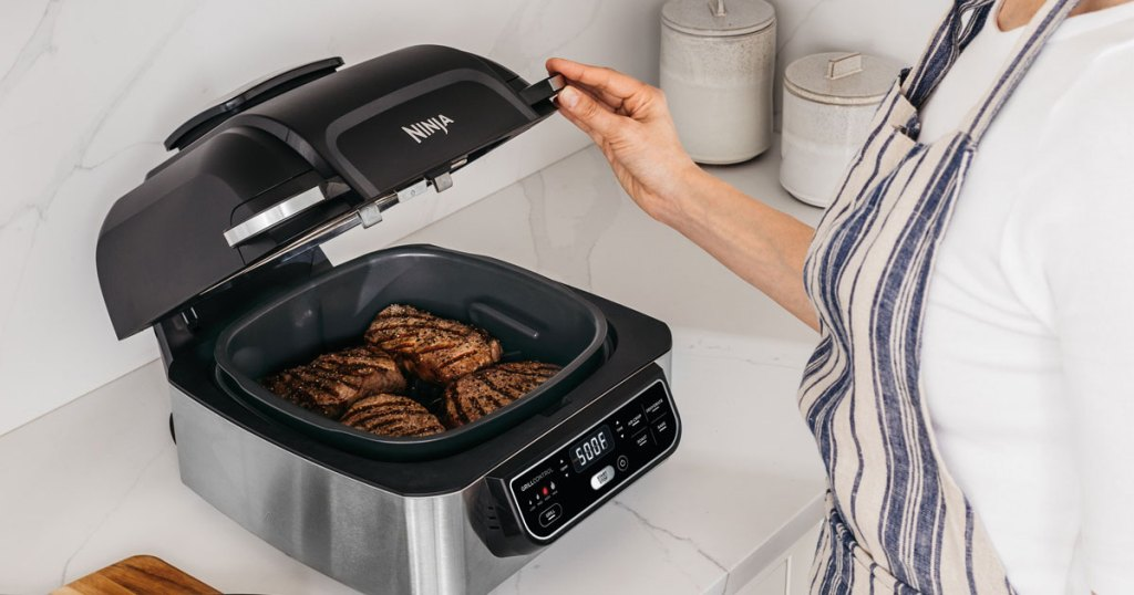 ninja foodi 5-in-1 grill air fryer