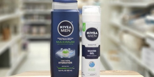 Better Than Free Nivea Men's Products at Target After Cash Back | Just Use Your Phone