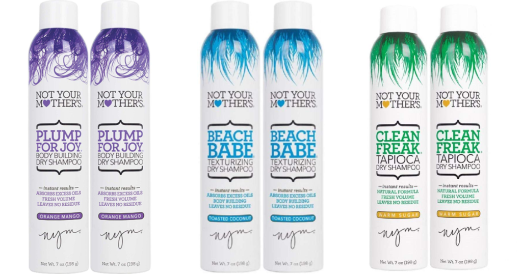Not Your Mother's Dry Shampoo three sets of 2-Packs