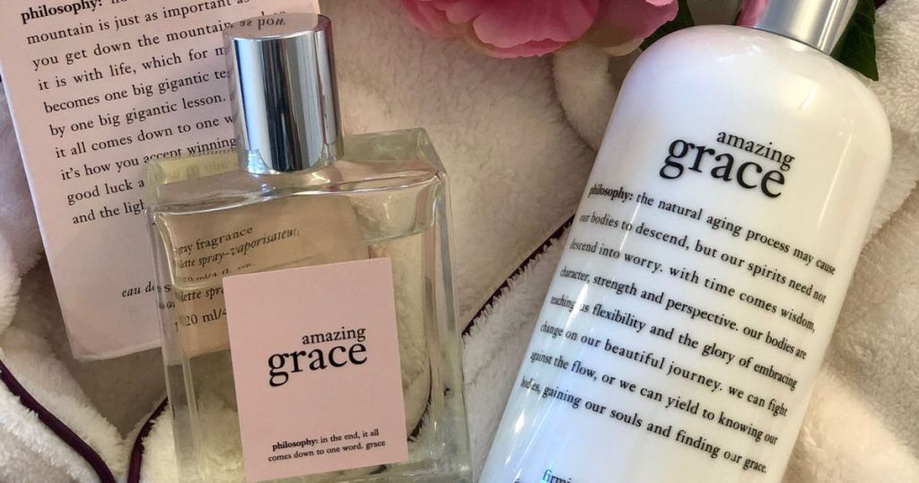 philosophy amazing grace lotion and perfume