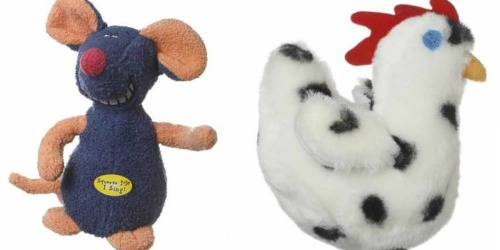 Multipet Look Who's Talking Chicken Dog Toy Only $1.66