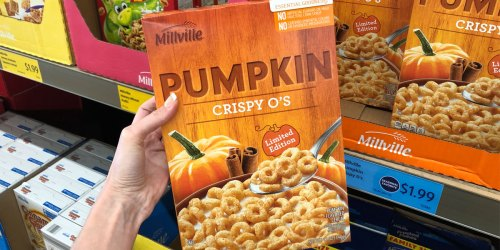 SIX Pumpkin Grocery Items to Score at ALDI | Pumpkin Cereal, Pumpkin Creamer & More