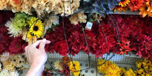 Halloween Wire Wreath Forms Just $1 at Dollar Tree