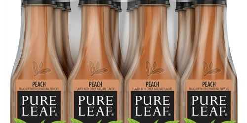 Pure Leaf Iced Tea Bottles 12-Pack Just $7.97 Shipped at Amazon | Only 66¢ Per Bottle