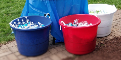 Mainstays 17-Gallon Buckets 3-Pack Only $14.50 at Walmart (Regularly $29)