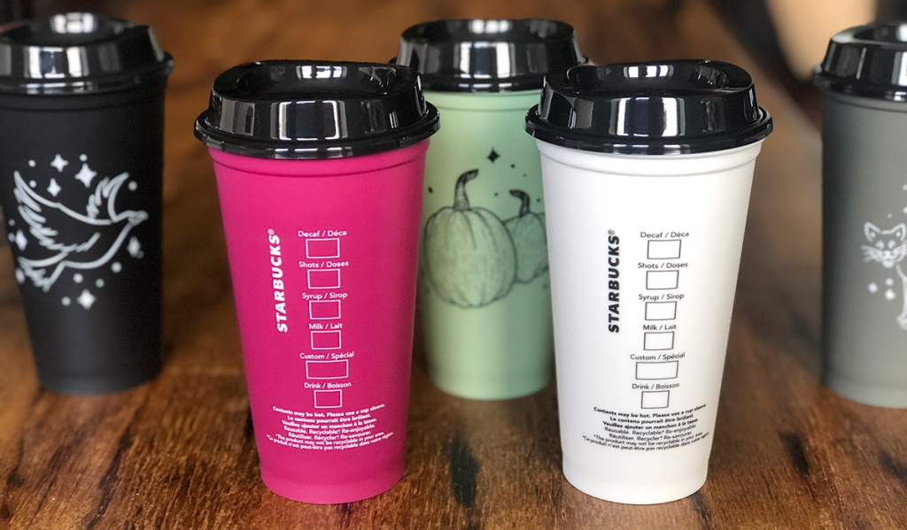 Starbucks Halloween Reusable Cups Mugs Available Now At Target
