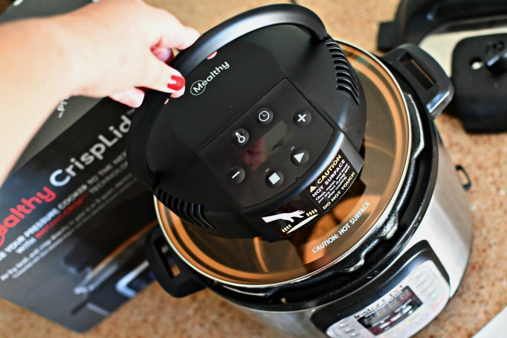 review of Mealthy CrispLid Instant Pot Accessory
