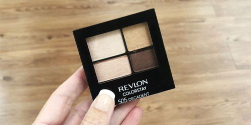 Revlon Eye Shadow Quad Palettes Only $2.70 (Regularly $8) + More