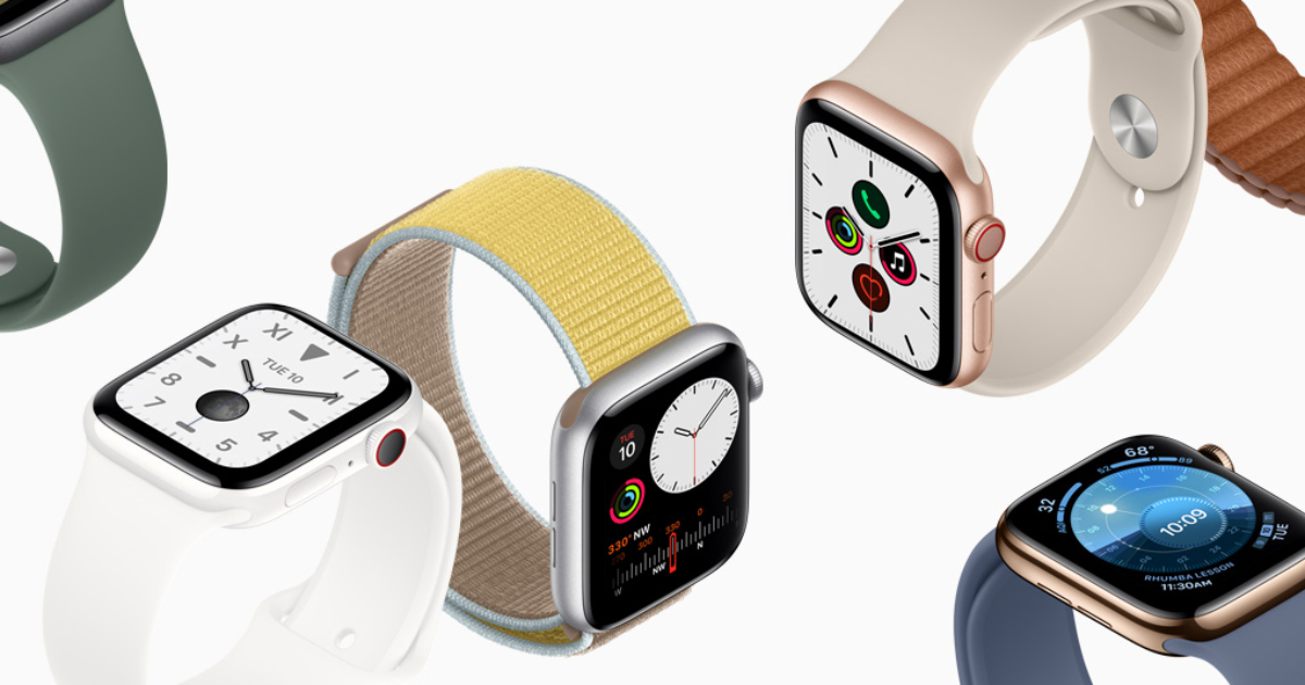 Series 5 Apple Watches