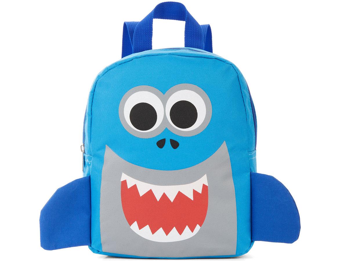 Carried Away little kids shark backpack