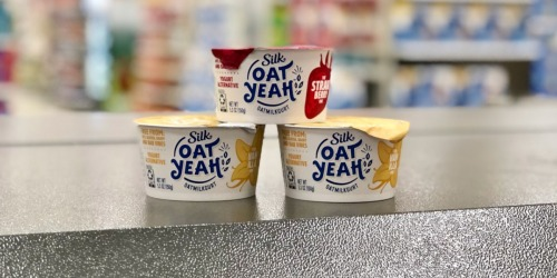 Silk Oat Yeah Dairy-Free Yogurt Alternative Only 48¢ After Cash Back at Target + More