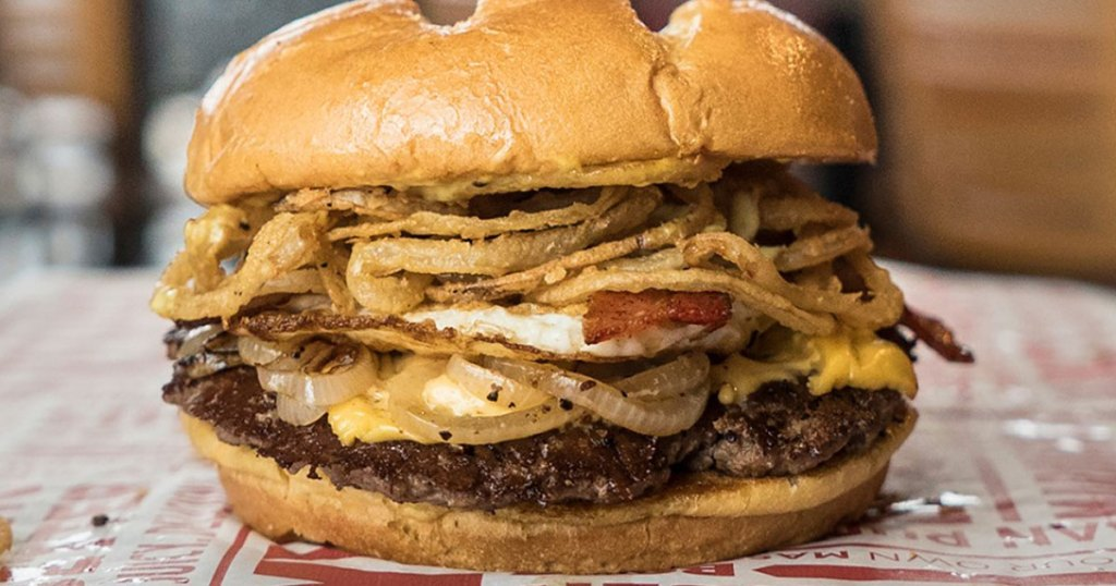 smashburger sin city burger close up
