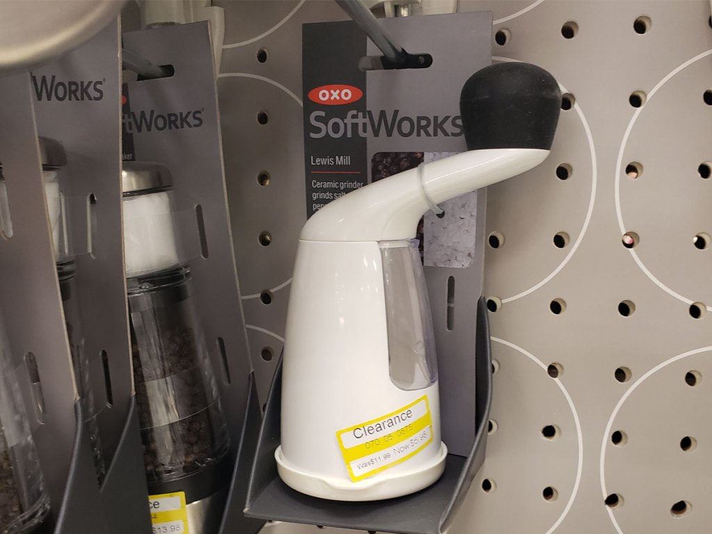 oxo softworks lewis pepper mill on clearance at target