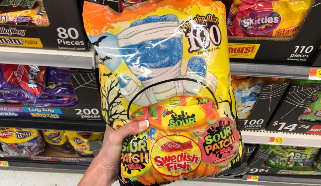 Sour Patch and Sweedish Fish Spooky Mix