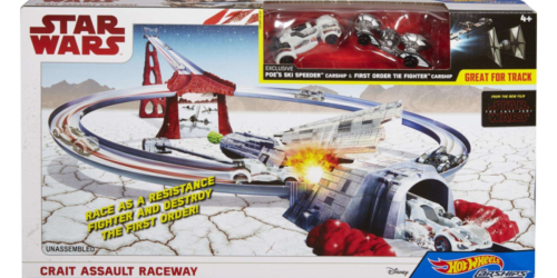 Up to 65% Off Hot Wheels Star Wars Figures & Playsets at Walmart