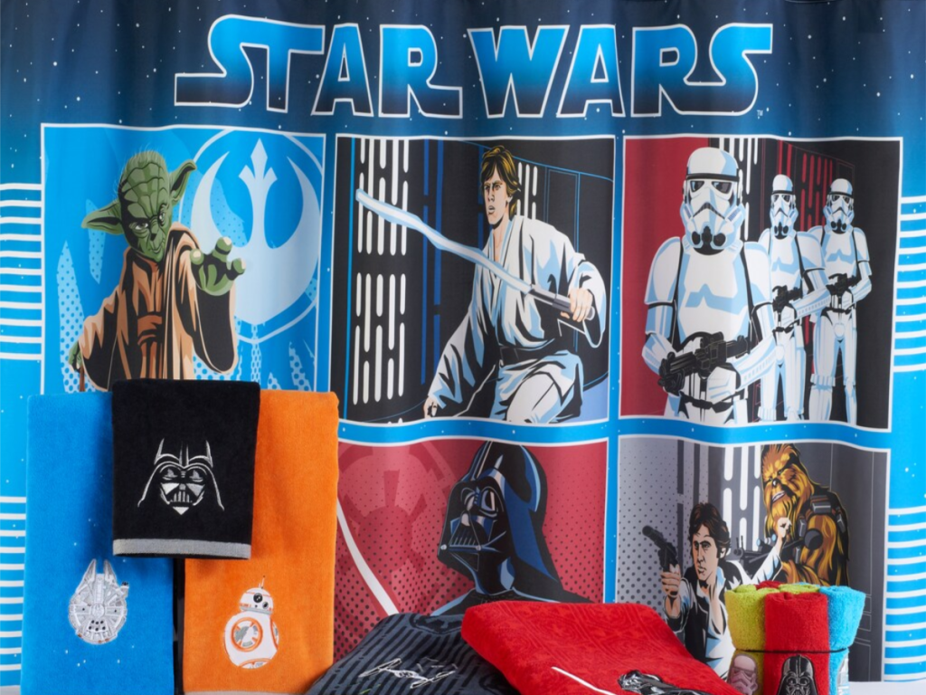 Up To 75 Off Star Wars Bedding Amp Bath Items At Kohl S