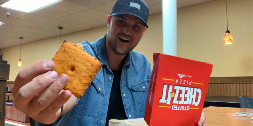 What We Think of Pizza Hut's New Stuffed Cheez-It Pizza
