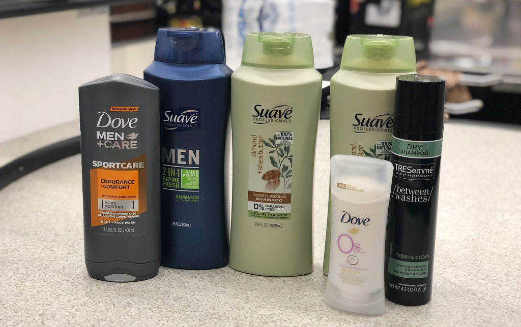 Unilever items at albertsons