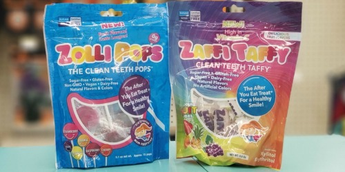 Zollipops & Zaffy Taffy Clean Teeth Candy Only $1.50 at Walgreens | Sugar Free