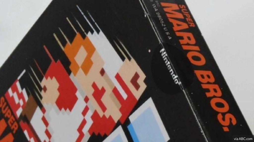 super mario bros test launch game
