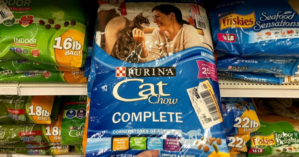 purina cat chow complete dry cat food at target