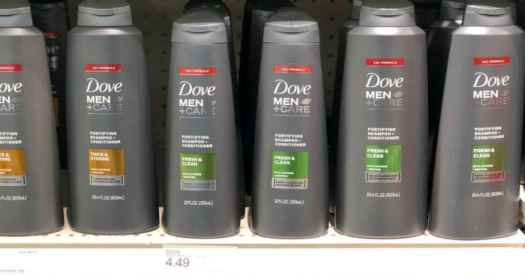 dove men + care shampoo at target
