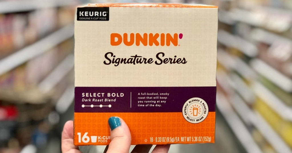dunkin donuts signature series coffee pods at target