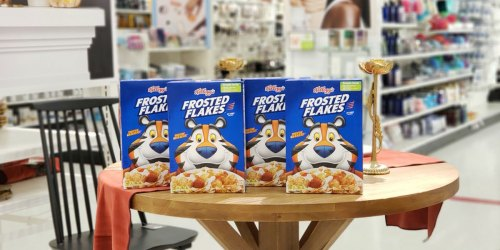 New Kellogg's Coupon = Frosted Flakes as Low as $1.19 Each After Cash Back at Target