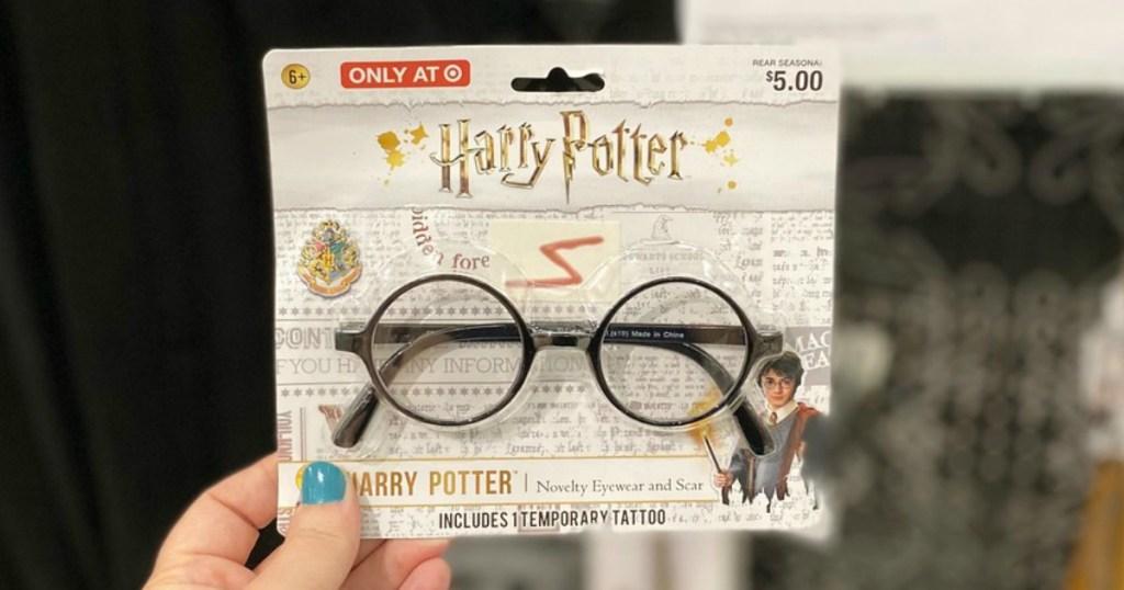 harry potter halloween glasses at target