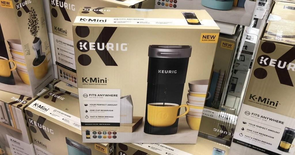 keurig k-mini single-serve coffee maker at target