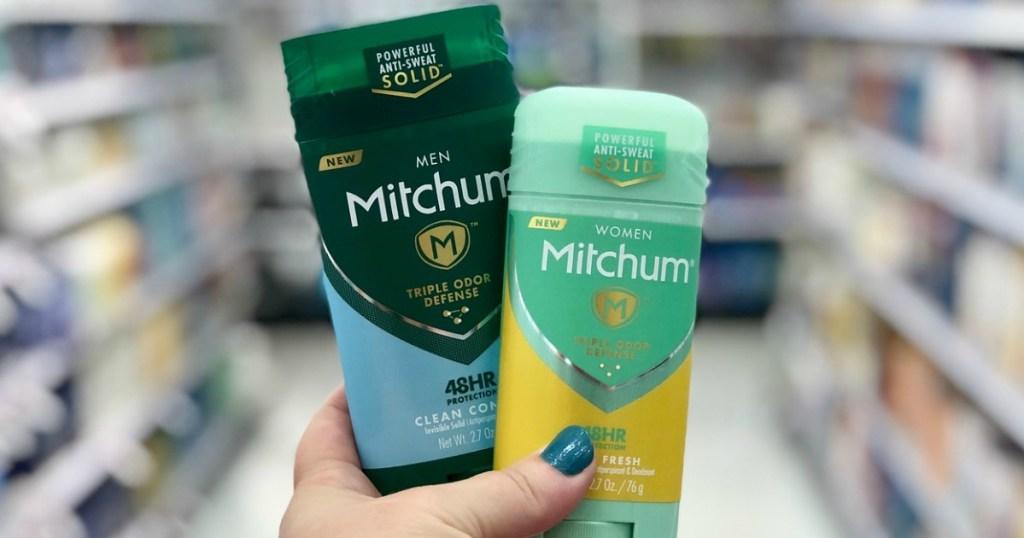 mitchum deodorant at target