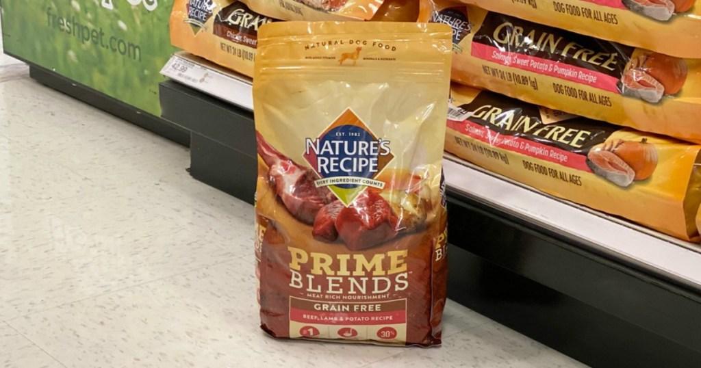 nature's recipe dry dog food at target