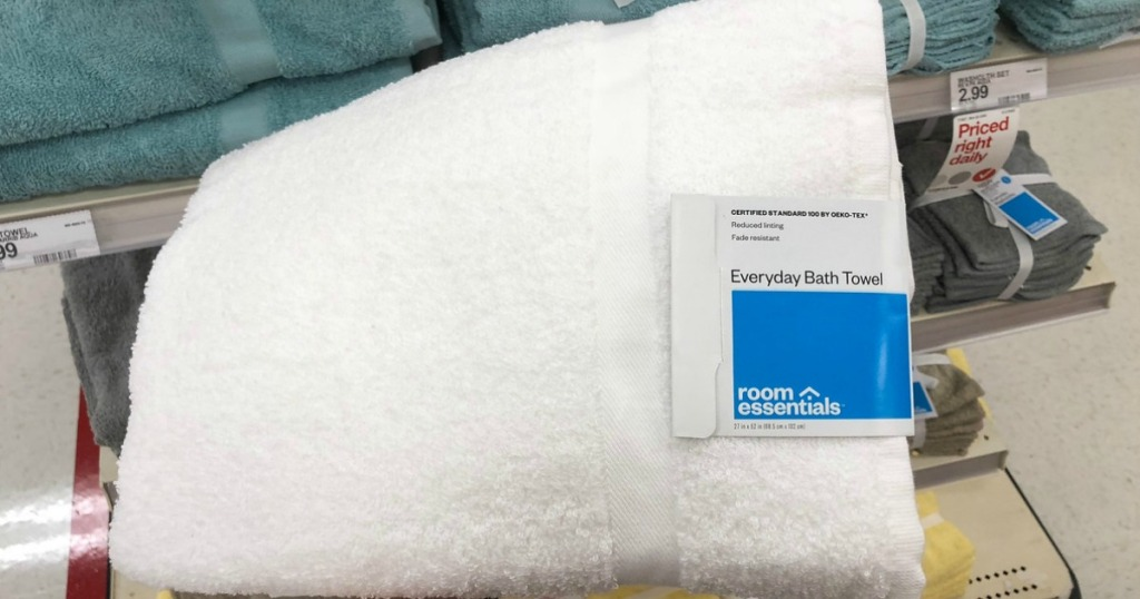 room essentials everyday bath towels at target