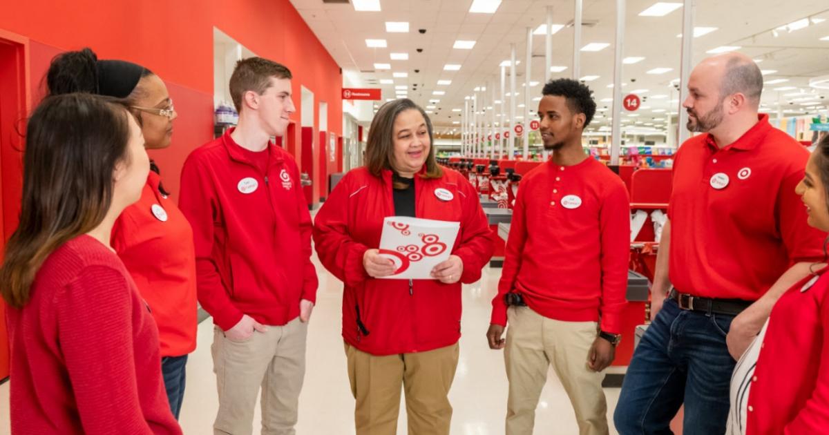 Target team meeting