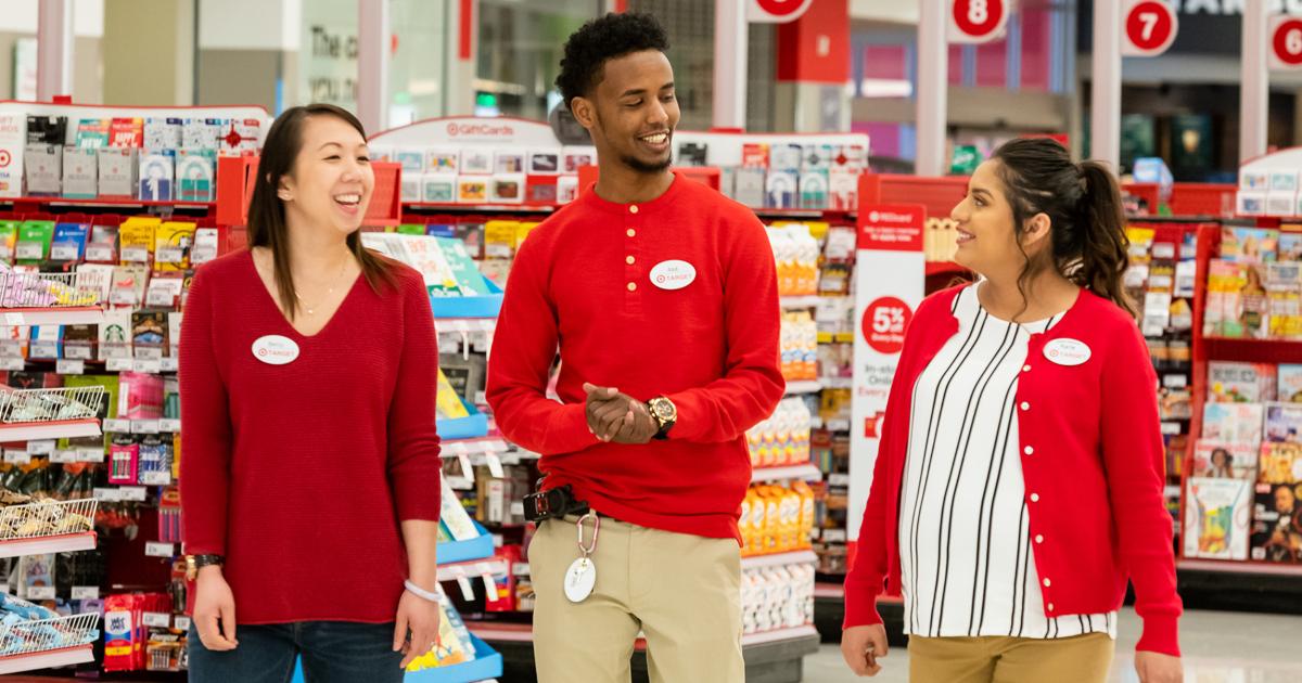 3 Target team members