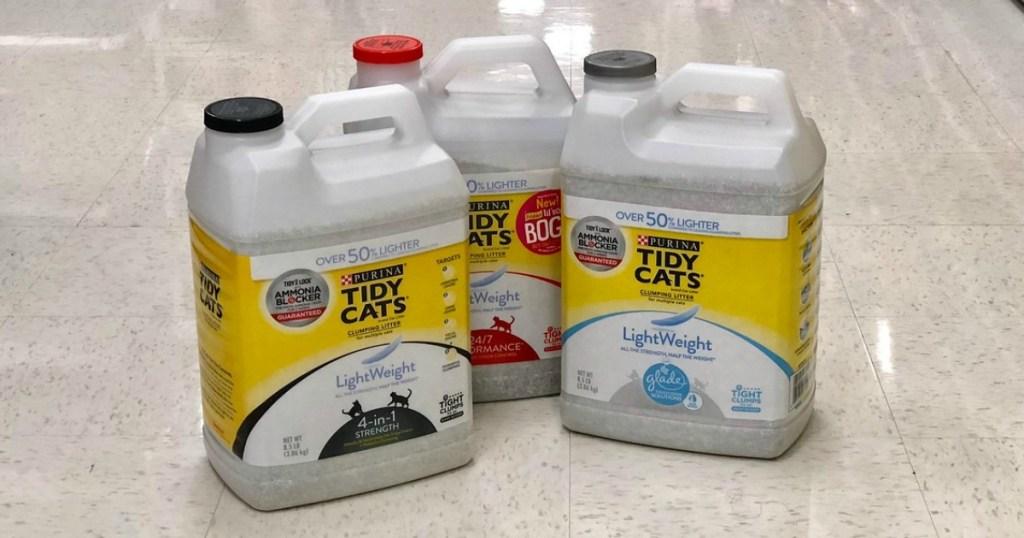 tidy cats lightweight litter at target