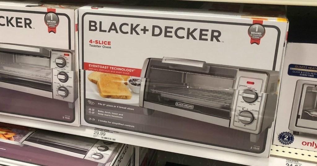 black + decker 4-slice toaster oven at target