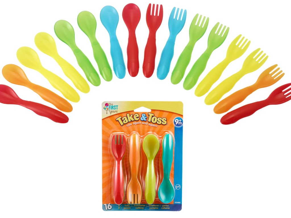 the first years take and toss flatware