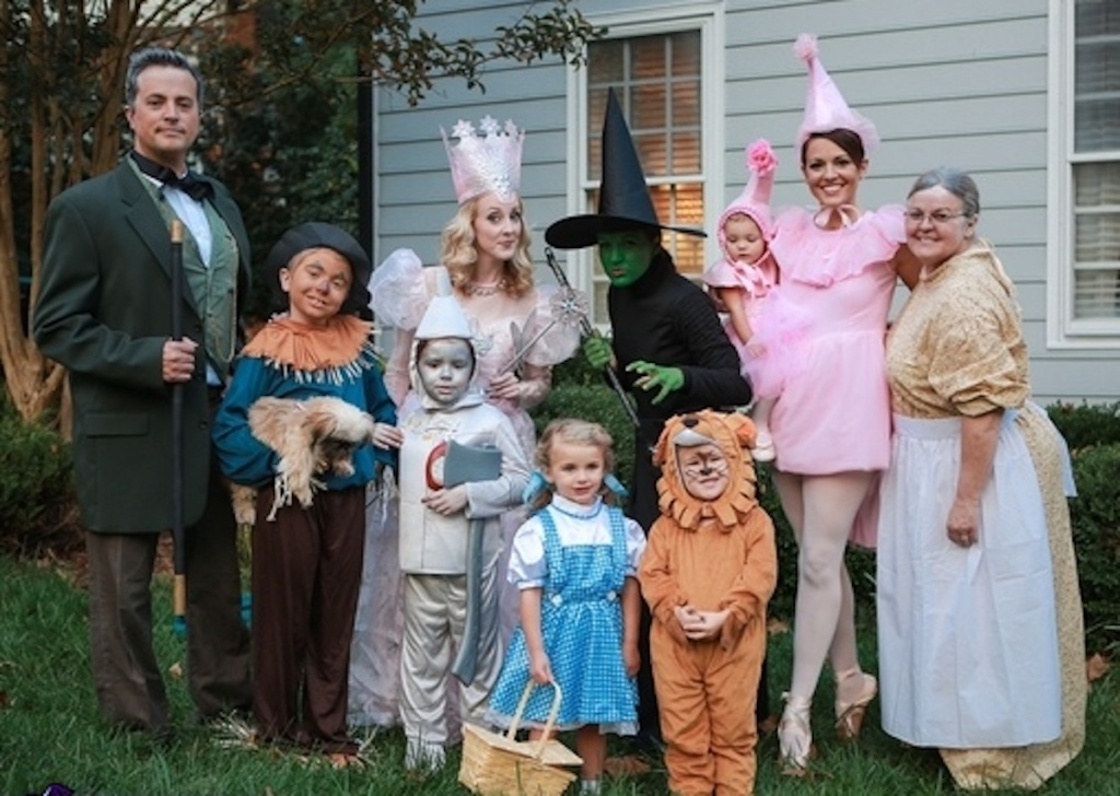 the wizard of oz family costumes