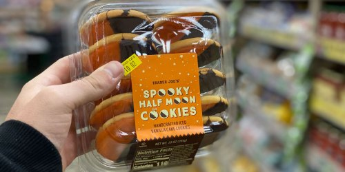 Trader Joe's Spooky Half Moon Cookies Available For Limited Time