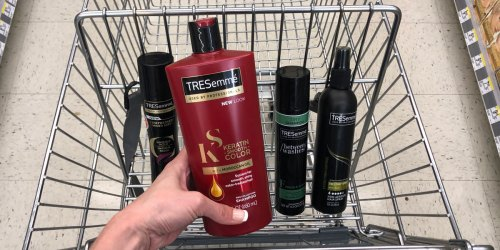 Over 50% Off TRESemmé Hair Care at Walgreens