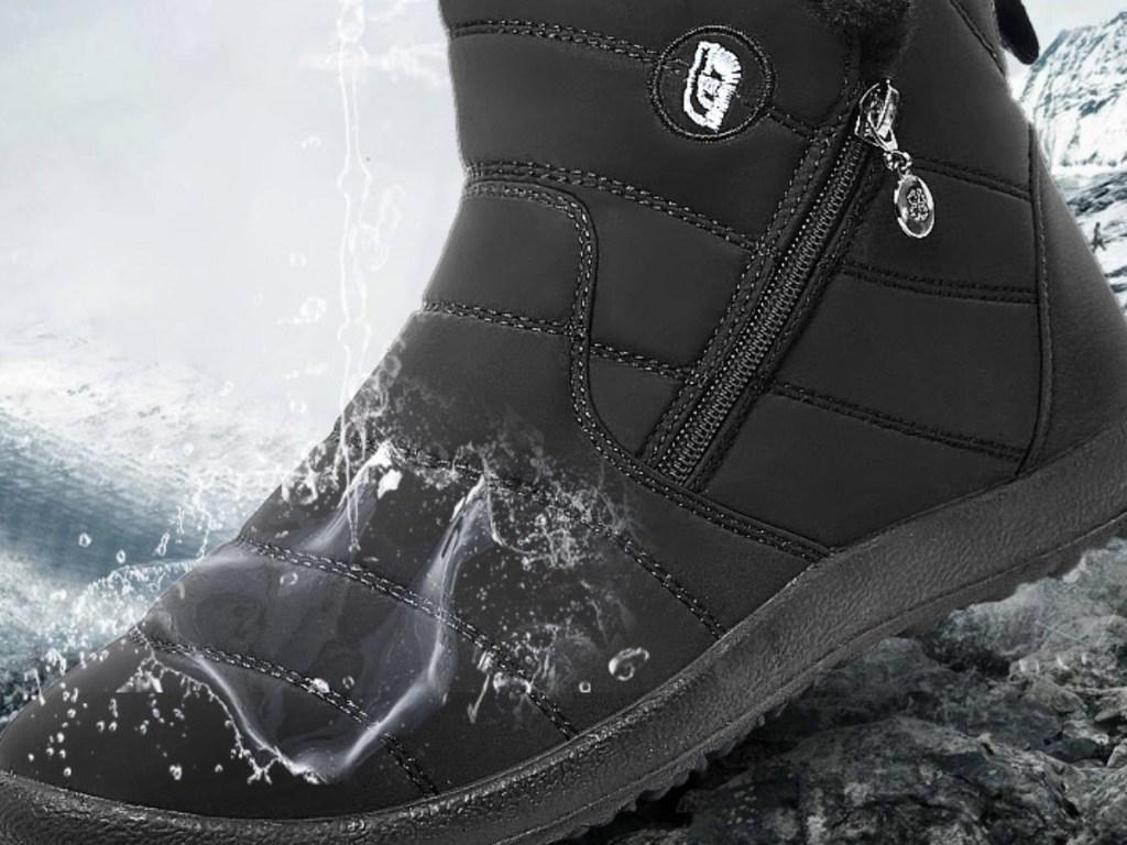 unisex snow boots