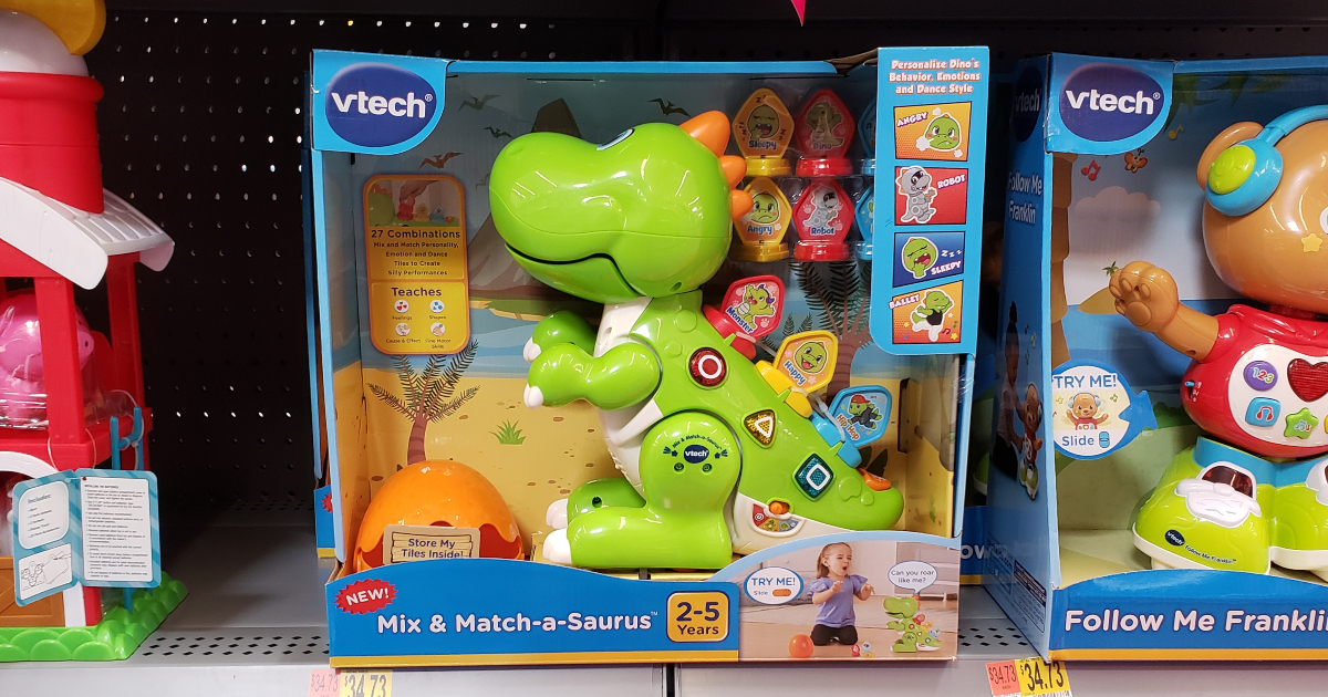 V-Tech Mix and Match-A-Saurus
