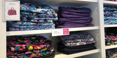 Up to 85% Off Vera Bradley Bags, Flip Flops, & More